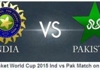 ICC CWC 2015 4th Match IND vs PAK Highlights, Full Details, Preview, Both Teams Probable Playing XI