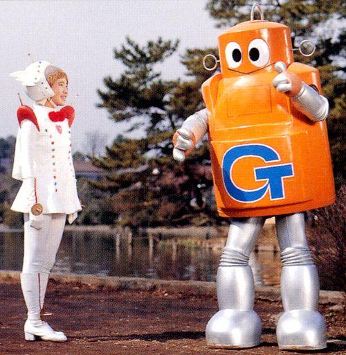 Questa mattina passeggiando ho incontrato Mister G. Ti saluta.