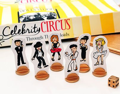 """Check out new work on my @Behance portfolio: """"Celebrity Circus"""" http://be.net/gallery/38018791/Celebrity-Circus"""