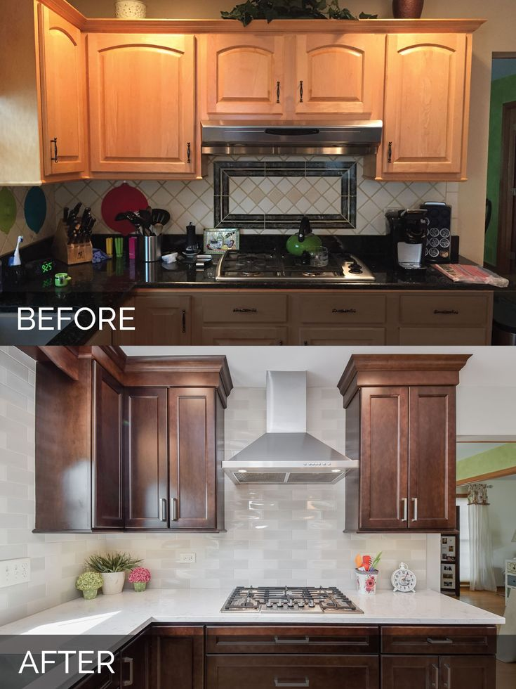 112 best before after kitchen remodeling projects - Diy bathroom remodel before and after ...