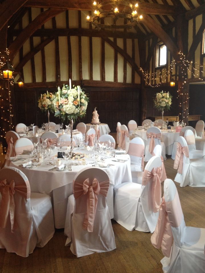 Beautiful wedding today at Great Fosters Hotel surrey