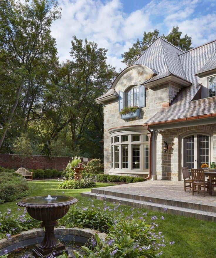 Dream Home Tour A Beautiful French Country Estate In Minnesota In 2020 French Country House French Country Cottage French Cottage