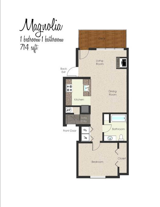 1 U0026 2 Bedroom Apartments In Portland, OR | Floor Plans  Forest Creek  Apartments, 1940 NW Miller Rd. | Tiny House/cottage/small Living |  Pinterest | Small ...