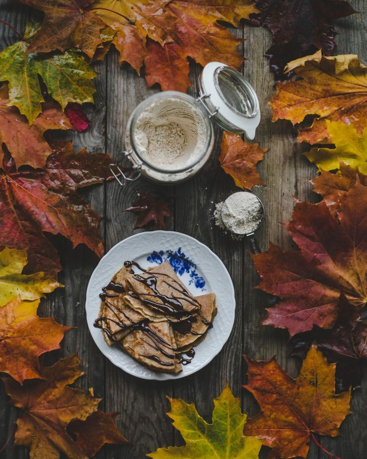 Chestnut Crêpes Recipe on Due fili d'erba | Two blades of grass | Photography, styling and recipe by Thais FK