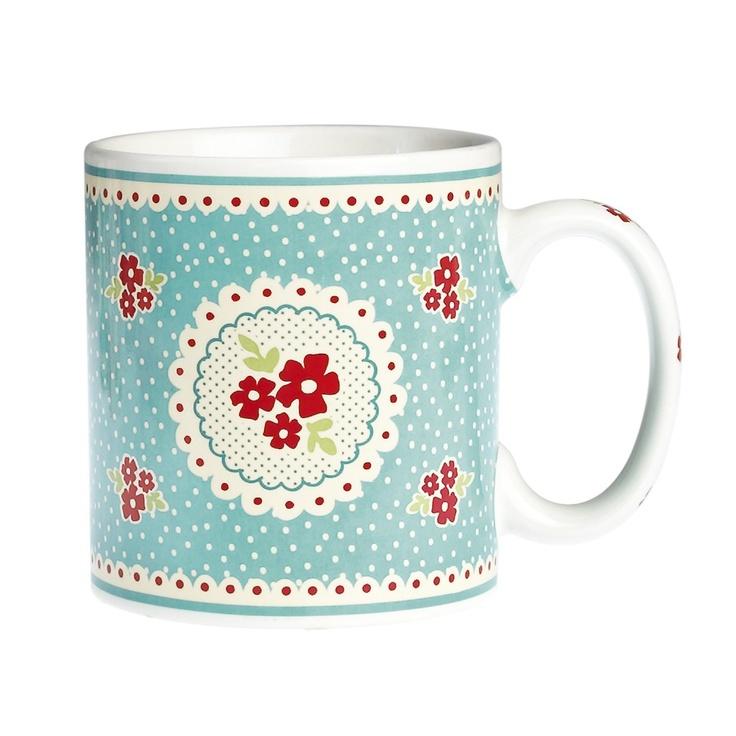 147 best mugs for more images on pinterest mugs coffee for Blue mug designs