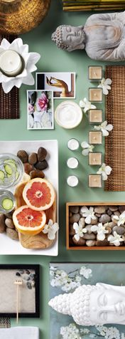 I love my Spa Life inspiration board! Take the quick HomeGoods Stylescope quiz to find out your home design personality. #HGStylescope