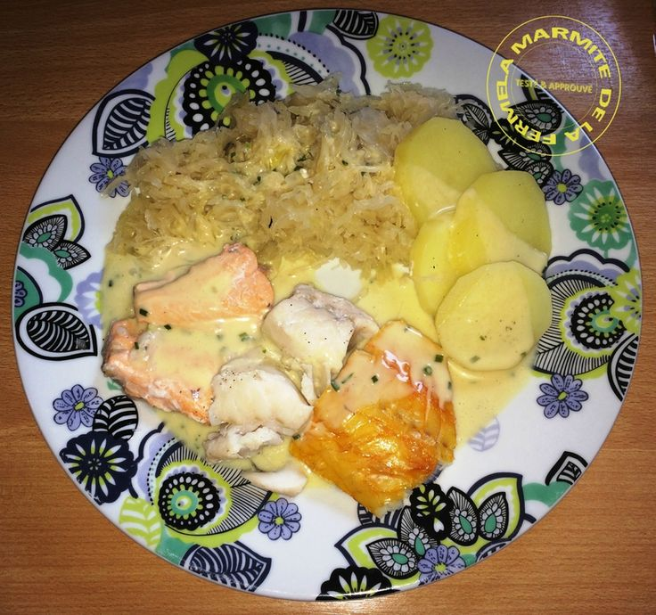 Choucroute de la mer l�g�re WW (Thermomix)                                                                                                                                                                                 Plus