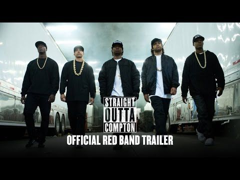 """What a lot of people don't realize about NWA,"" Ice Cube as himself says at the top of a new trailer for his film Straight Outta Compton, ""is that it's nonviolent protest."" So if you were wondering whether Ice Cube might sort of compare his former rap crew to Mahatma Gandhi, yes, he sort of would. The amazing thing is that by the end of the trailer, you sort of have to concede the point."