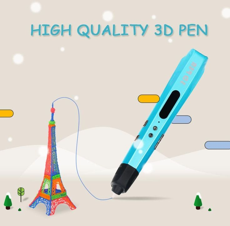 2017 original high quality 3D pen using ABS / PLA filament best child DIY gift graffiti pen 3D stereo brush 1.75mm //Price: $38.17//     #shop