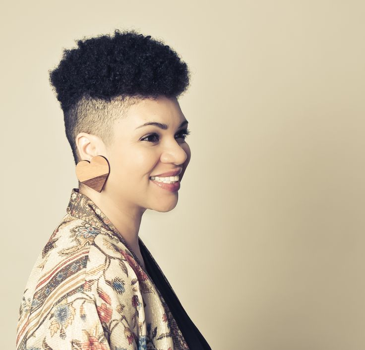 Awesome 1000 Images About Shaved Natural Hair Styles On Pinterest Black Short Hairstyles For Black Women Fulllsitofus