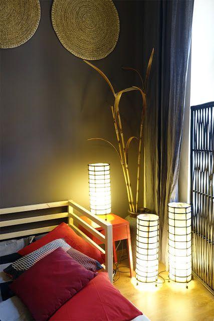 Spálňa v japonskom štýle   Living Styles
