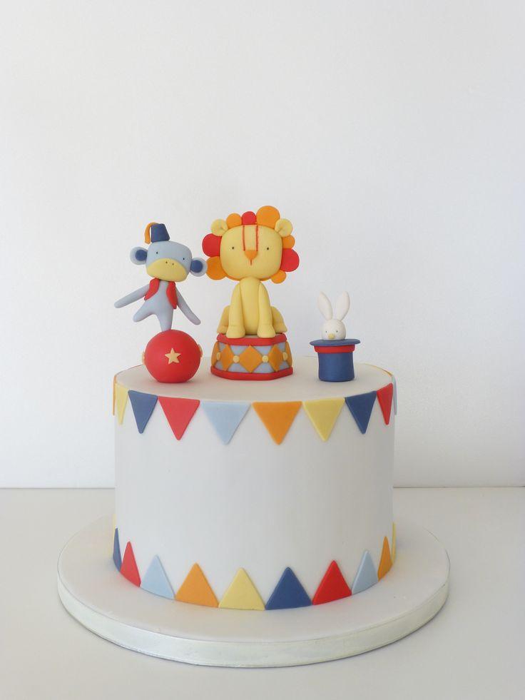 http://peaceofcakedesign.blogspot.com.es/2015/01/retro-circus-cake-bolo-circo-retro.html