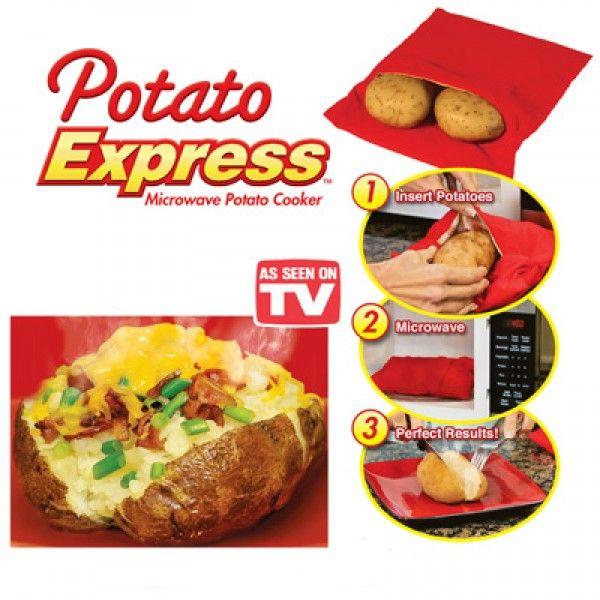 Potato Express Kumpir Pişirme Kesesi http://bit.ly/1MfH0qi