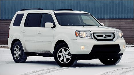 2012 Honda Pilot.. the new car I'm gonna get after we get our house... way better gas mileage than the escalade!