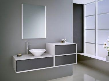 Serie de baño ILLINOIS, mueble ya montado para colocación sin complicaciones. Aumenta tu espacio de orden y almacenamiento con un toque minimalista y muy elegante. Ideal para espacios reducidos.