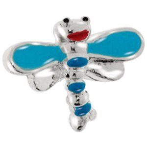 Avedon Kids Polished Sterling Silver Blue Enamel Dragonfly Slide Charm Amazon Curated Collection. $30.00. Made in  Italy. Avedon Kids charms are only compatible with Avedon Kids charm bracelets