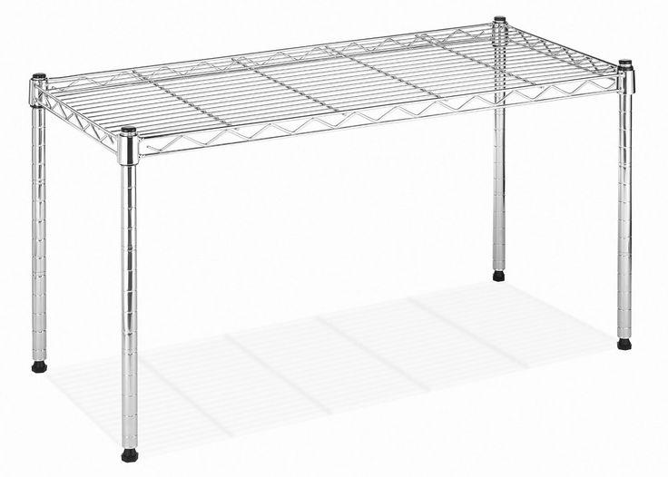 Amazon Com Whitmor 6054 585 Supreme Wide Stacking Shelf