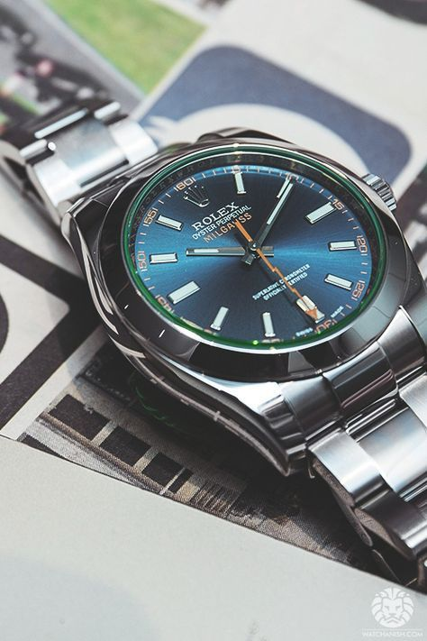 The reliability and precision of an ordinary mechanical watch can be affected by a magnetic field of 50 to 100 gauss. But many scientists are exposed to much higher magnetic fields during the course of their work. Rolex's solution was the Rolex Milgauss, created in 1956, the first watch of its kind. Hence the name of the watch, mille being French for thousand. Price (SGD) Retail Price:10,700 Sale Price (Brand New):9,000 Rental Per Day:130