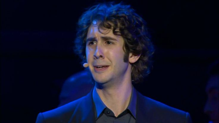 Josh Groban  Anthem This song is so beautifully sad... the character is about to defect from Russia because of the communist government, and he is mourning his country.