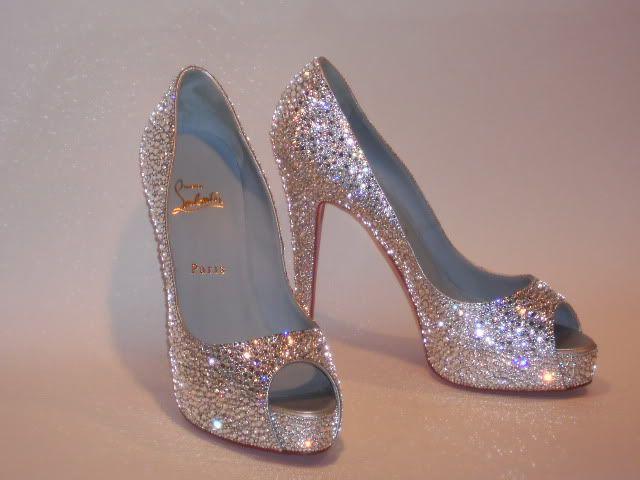 16c3f48fec87 DIY Rhinestone Heels. e6000 and 12mm Rhinestones Crystals. Beautiful ...