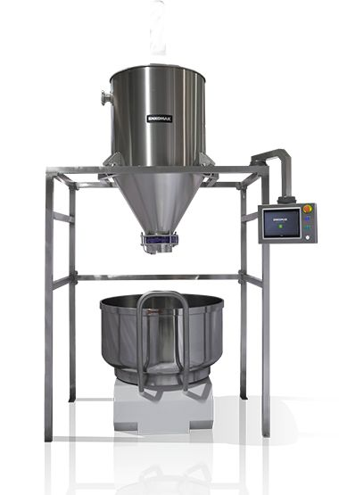 Flour Dosing System - High Quality And Heavy Duty Material Perfect Stuff In Mixing Flour and Other Ingredients For Bread Making Keeping Raw Material Ready With Air Blowing Principle Easy To Supply Needed Mixture For Dough Preparation Controlled By PLC Screen