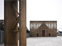 L'Aquila Church - Chiesa di San Bernardino, a new church after the Earthquake - L'Aquila, Italy - 2010 - Antonio Citterio
