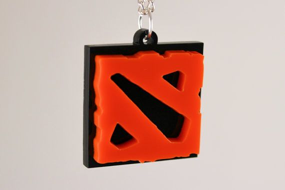 DOTA 2 Pendant Necklace - Laser Cut Acrylic - Sale Price