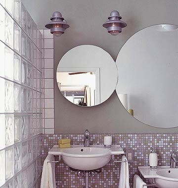 Love the light fixtures - would be perfect in my downstairs bath.