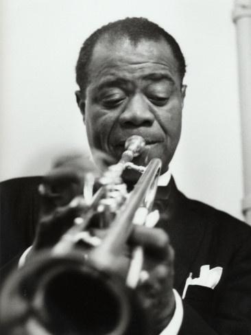 Louis Armstrong, November 17, 1955