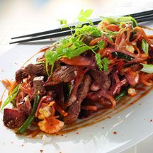 Biffwok som du snabbt kan hetta up i wokpannan! Tillsätt dina favoritkryddor för att göra den din egen.