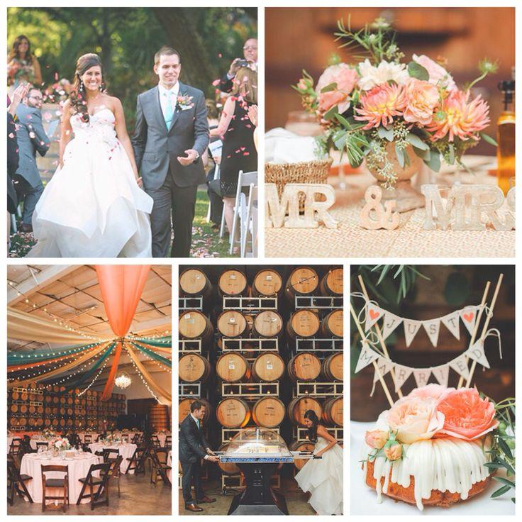 Говорят, что #свадьба Сэмми и Тома отражает беззаботный #стиль #запад'ного  побержья #США где они живут сейчас и элегантный #стиль восточного - откуда они  родом. О чем это они — нам не очень понятно. Но, получилось #topweddingblogs@brideandstyle #жених #невеста #торт #цветы #вино #декор #свадебноеплатье