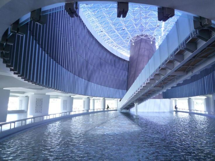 Tsunami Museum in Aceh, Indonesia