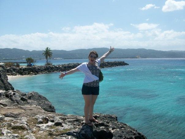 Beautiful waters of Jamaica