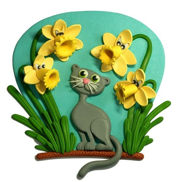 Charlotte Oh - Clay Illustration-AngryDaffodils&Cat