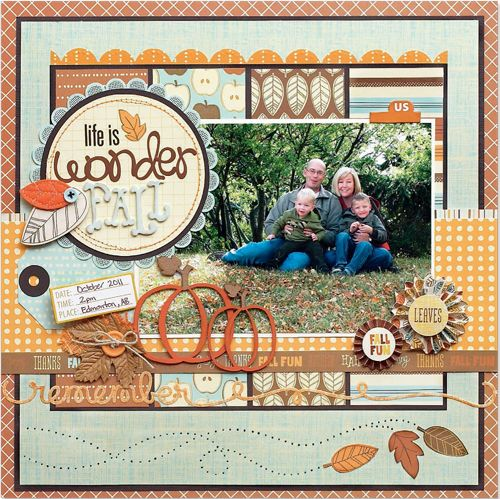 #papercraft #scrapbook #layout    Scrapbook  Cards Today - Canada's scrapbooking magazine