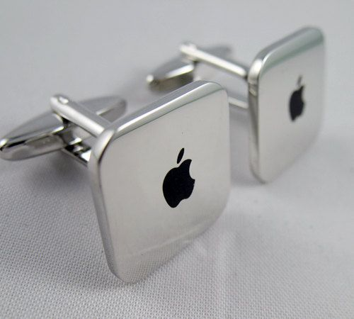 Mens Cufflinks- Copper Fashion Cufflinks, Mac Mini Design, with a Gift Box