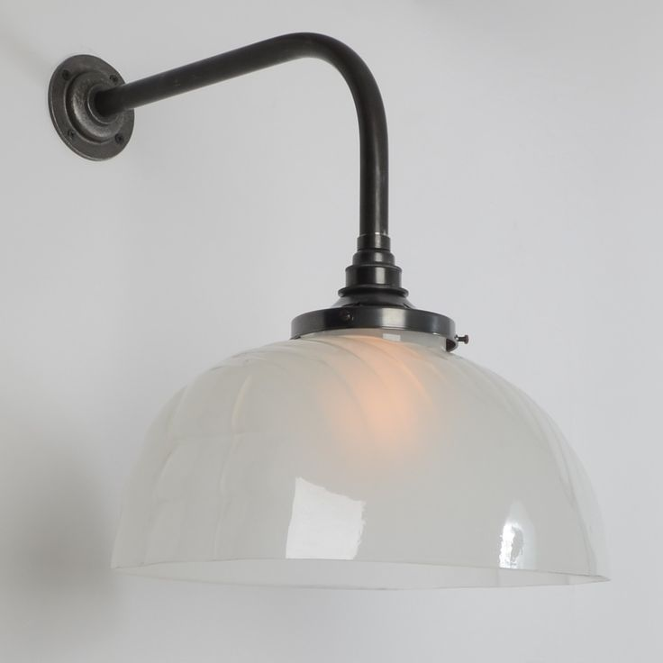 The jellymould wall light frosted glass wall lightsglass wallswall lightingvintage industrial