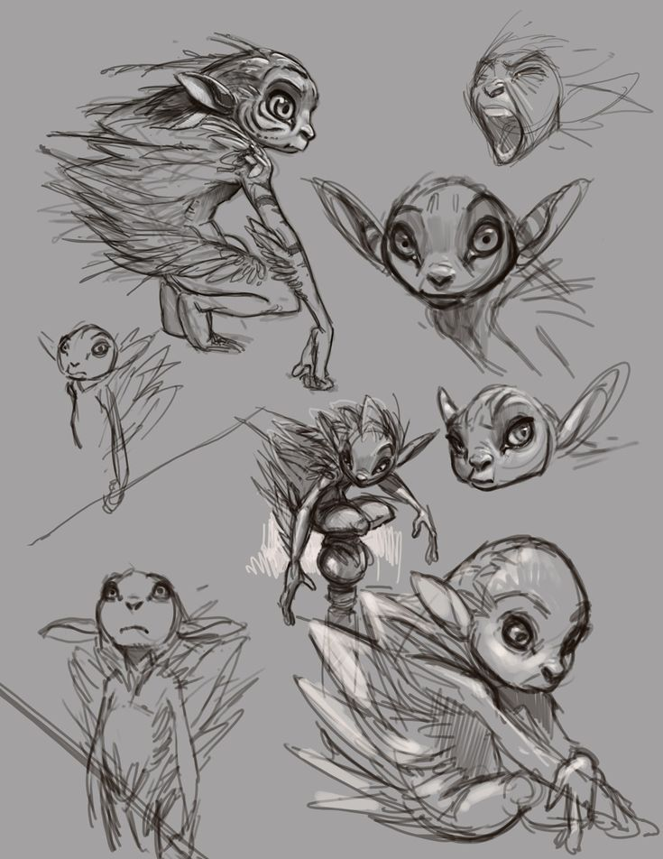 Character Design With Aaron Blaise : The king of elves hidden creature designs