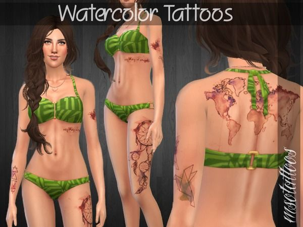 Luvjake S Watercolor Tattoos Watercolor Tattoo Tattoos Tattoos
