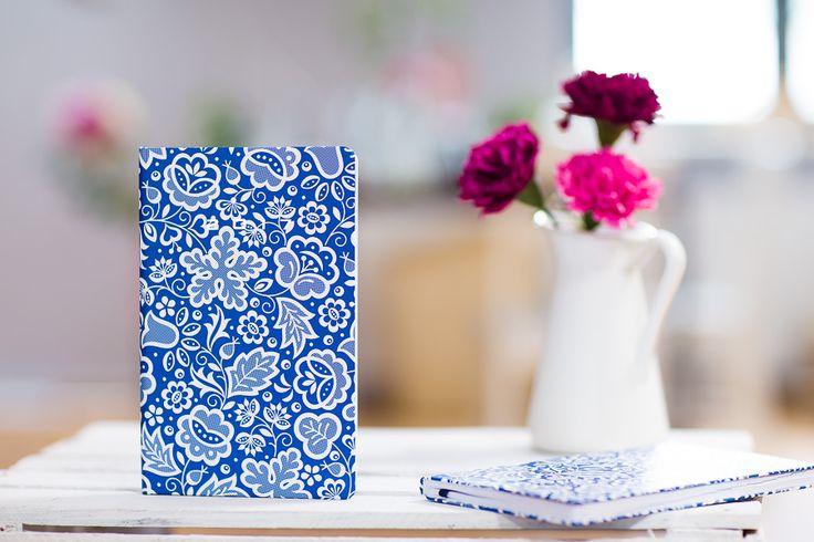 Kalendarz książkowy FOLK 2017 - kujawski niebieski