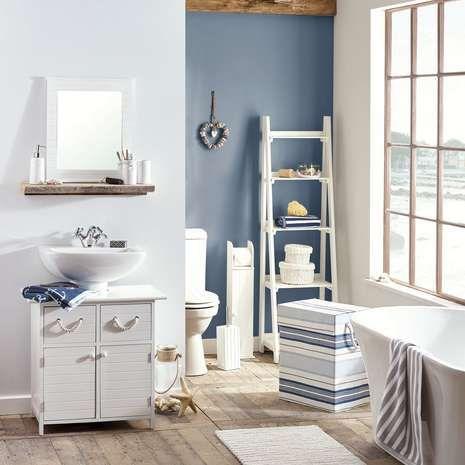 Dunelm Bathroom Cabinets Elements Bamboo Tier Corner