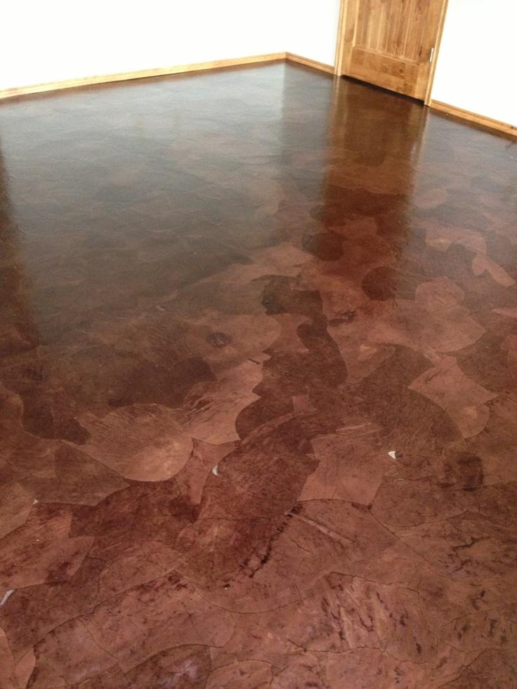 Completed Brown Bag Floor abuildingweshallgoblogspotcom 16