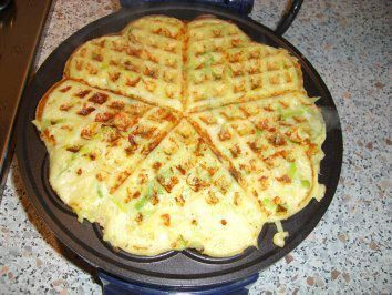 Rezept: Kartoffel-Lauch-Waffeln nach Weight Watchers Bild Nr. 3