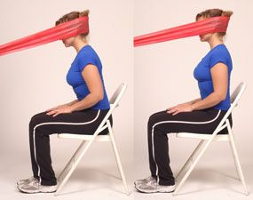 Thera-Band Cervical Extension