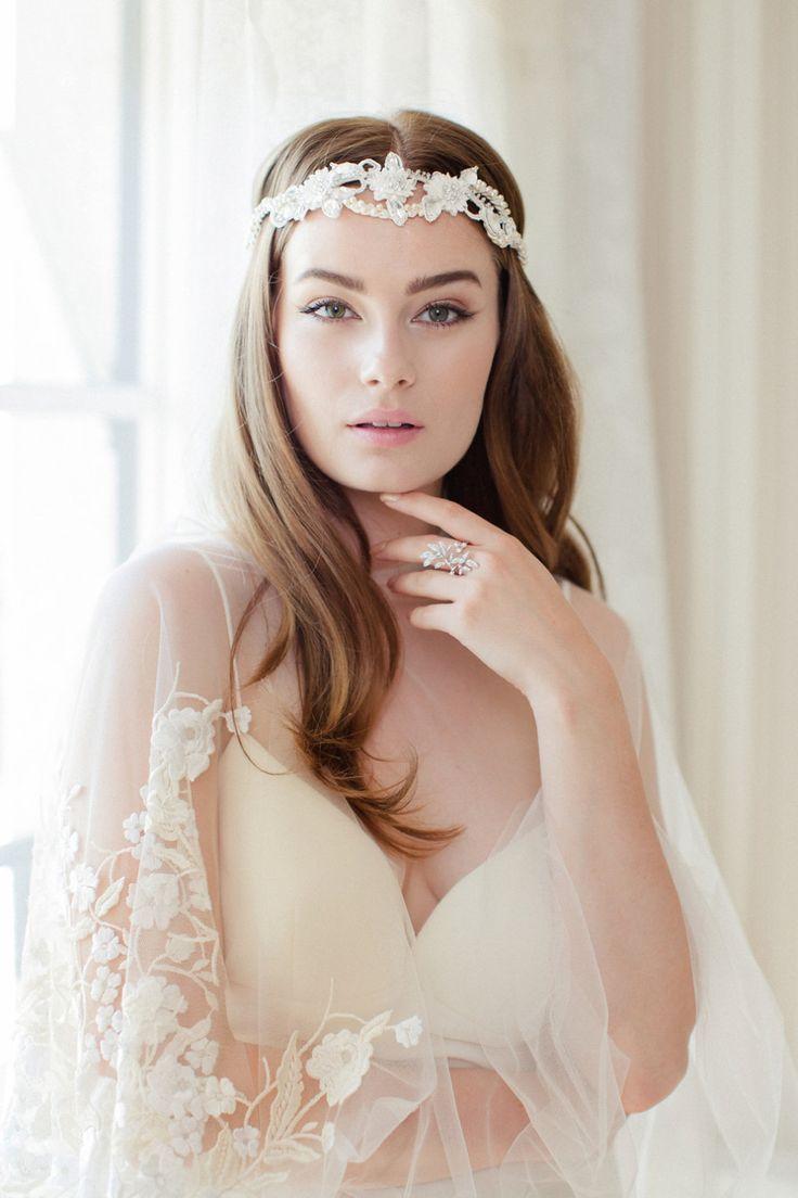 bridal headpeice - Jannie Baltzer 2016 Bridal Accessories   itakeyou.co.uk: