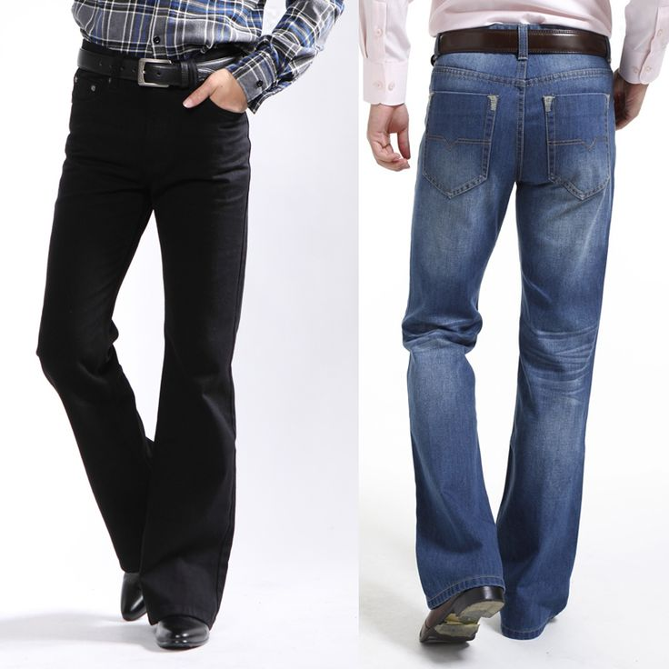 Flared Mens Jeans
