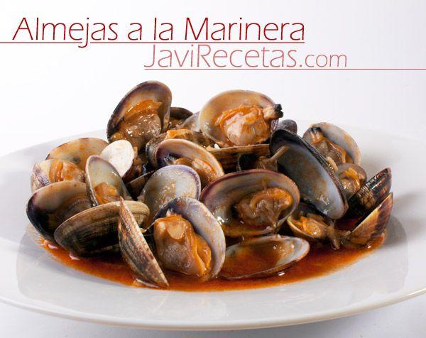 Almejas a la Marinera. Un plato especial que puede comerse cualquier día :)