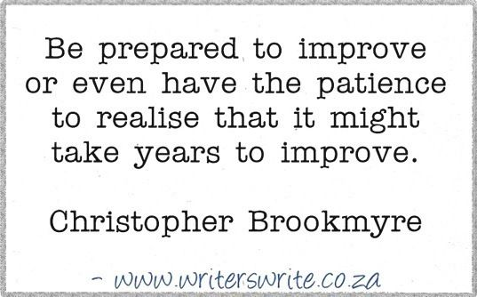 Quotable - Christopher Brookmyre