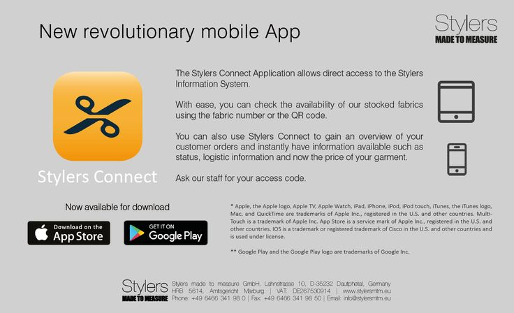 New Revolutionary Mobile App For Our Customers #madetomeasure #mensfashion #tailoring