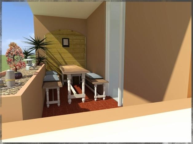 Plus de place sur la terrasse